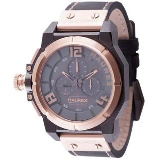 Haurex Italy Mens space chrono grey Watch