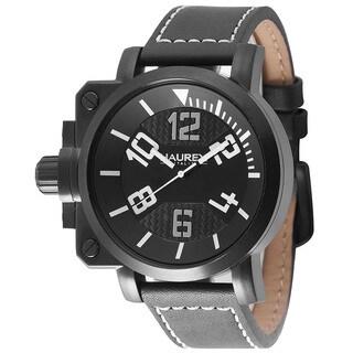 Haurex Italy Mens Gun Black Watch