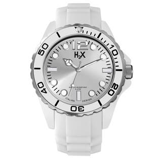 Haurex H2X Mens Reef Silver Watch|https://ak1.ostkcdn.com/images/products/10208180/P17330921.jpg?impolicy=medium