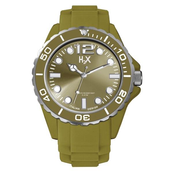Haurex H2X Mens Reef Green Watch