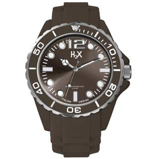 Haurex H2X Mens Reef Brown Watch (Option: Brown)|https://ak1.ostkcdn.com/images/products/10208184/P17330923.jpg?impolicy=medium