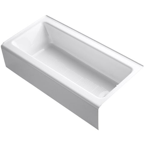 "Kohler K-838 Bellwether 60"" X 30"" Alcove Bath With Integral Apron And Right-Hand Drain"