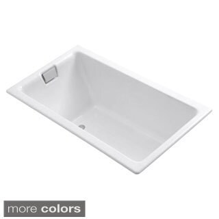 Kohler Tea-For-Two 5.5 Foot Reversible Drain Cast Iron Soaking Tub