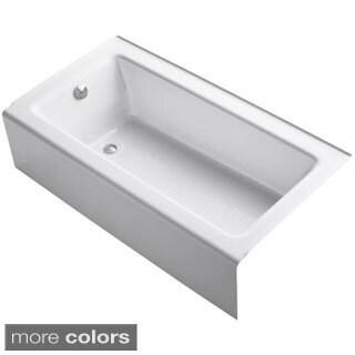 Kohler Bellwether 5-foot Left-hand Drain Cast-iron Soaking Tub