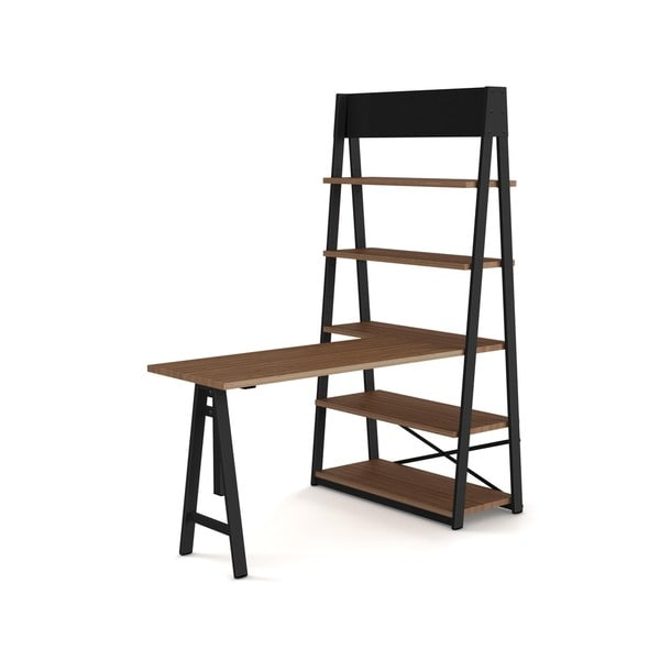 Amisco Woodcreek Metal and Wood Freestanding Unit - Table and Shelf