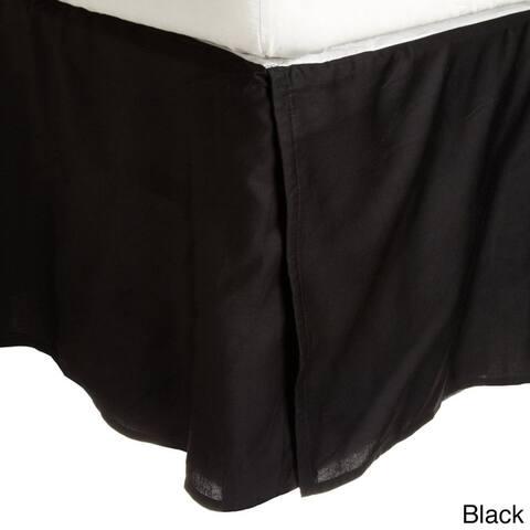 Superior Solid Wrinkle Resistant Microfiber 15-inch Drop Bedskirt