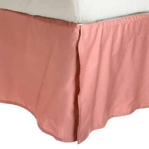 Miranda HausSolid Wrinkle Resistant Microfiber 15-inch Drop Bedskirt
