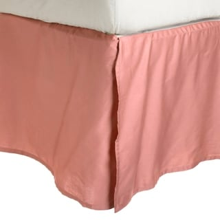 Luxor Treasures Wrinkle Resistant Solid Bedskirt