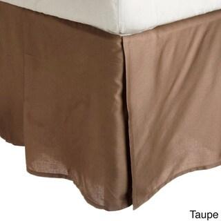 Superior Wrinkle Resistant Solid Bedskirt