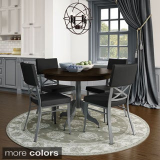 Amisco Windsor Metal Chairs and Tina Table Dining Set