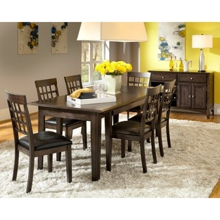 Simply Solid Corina Solid Wood 8-piece Dining Collection