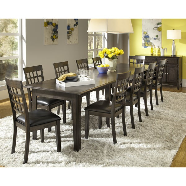 Dining Room Table For 10: Shop Simply Solid Corina Solid Wood 10-piece Dining