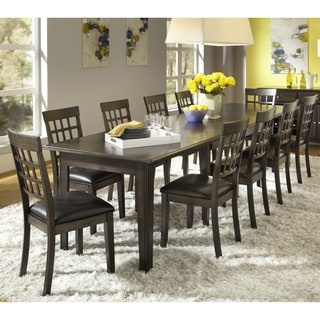 Elegant Simply Solid Corina Solid Wood 11 Piece Dining Collection