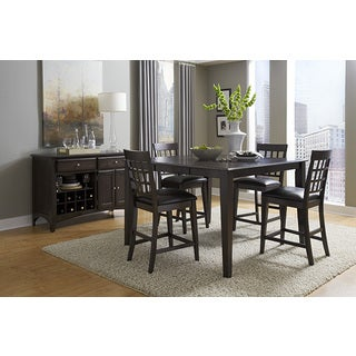 Simply Solid Corina Solid Wood 8-piece Gathering Height Dining Collection