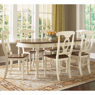 Simply Solid Samaria Solid Wood 5-piece Dining Collection  sc 1 st  Overstock & Oval Kitchen \u0026 Dining Room Sets For Less | Overstock