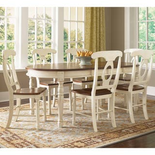 Simply Solid Samaria Solid Wood 5 piece Dining Collection. Oval Dining Room Sets For Less   Overstock com
