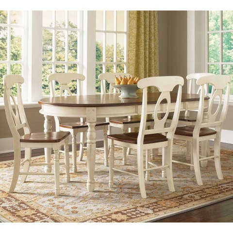 Simply Solid Samaria Solid Wood 5-Piece Dining Collection
