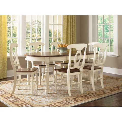 Simply Solid Samaria Solid Wood 8-piece Dining Collection