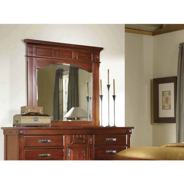 Simply Solid Ike Solid Wood 6 Piece King Bedroom Collection   Free Shipping  Today   Overstock.com   17331137