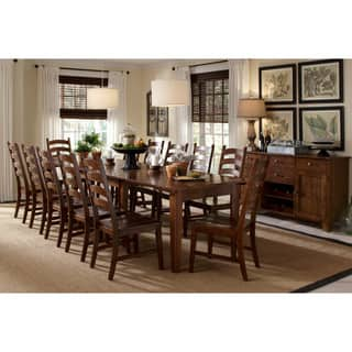Auden Distressed Solid Wood 14-piece Dining Collection|https://ak1.ostkcdn.com/images/products/10208382/P17331118.jpg?impolicy=medium