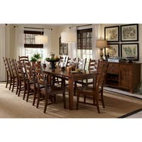 Auden Distressed Solid Wood 14-piece Dining Collection
