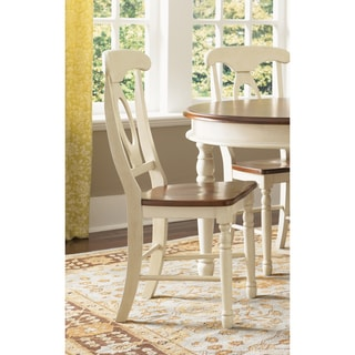 Simply Solid Samaria Keyhole Dining Chairs (Set of 2)