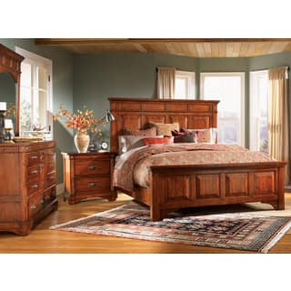 Simply Solid Ike Wood 6 Piece Queen Bedroom Collection