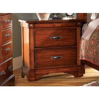Simply Solid Ike Solid Wood Nightstand with Three Drawers