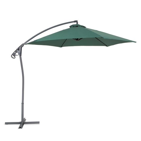 asti by beliani cantilever outdoor umbrella free