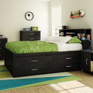 South Shore Lazer 54-inch Full Captain Bed|https://ak1.ostkcdn.com/images/products/10208604/P17331250.jpg?impolicy=medium