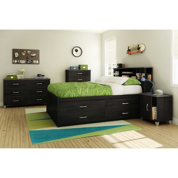 54 Best Images About Complete Bedroom Set Ups On Pinterest: South Shore Lazer 54-inch Full Captain Bed