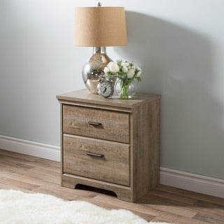 Laurel Creek Easton Antique Pewter Nightstand