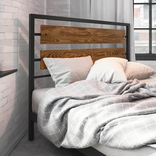 Amisco Fargo 60-inch Queen-size Metal Headboard