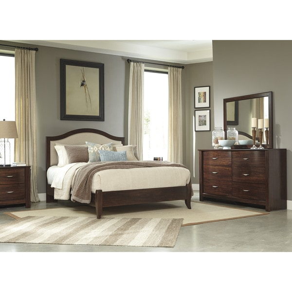Signature Design By Ashley Corraya Brown Queen Size Bed Free Shipping Today Overstock 17331406