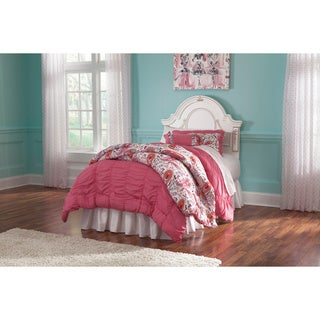 Signature Design by Ashley Korabella White Twin-size Panel Bed Frame