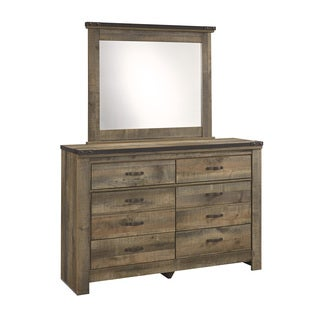 Signature Design by Ashley Trinell Brown Youth Dresser and Mirror