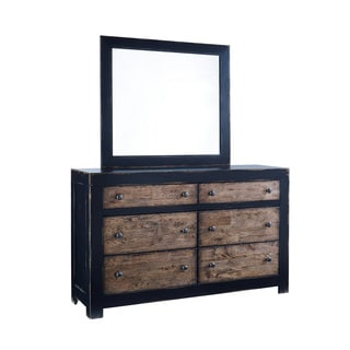 Signature Design by Ashley Emerfield Rustic Brown Dresser and Mirror