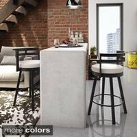 Clay Alder Home Taft 26-inch Swivel Metal Counter Stool