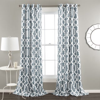 Curtains Ideas blackout curtain reviews : Top Product Reviews for Lush Decor Edward Moroccan Pattern ...
