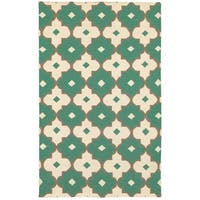 Rizzy Home Swing New Zealand Wool Blend Hand-woven Dhurrie Accent Rug (8' x 10') - 8' x 10'