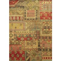 Rizzy Home Aquarius Hand-knotted Hand-spun Accent Rug (9' x 12') - 8' x 10'
