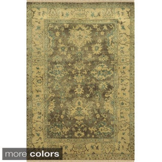 Rizzy Home Aquarius Hand-knotted Hand-spun Accent Rug (5' x 8')