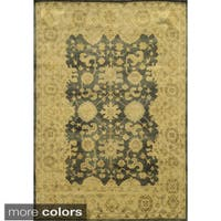 Rizzy Home Aquarius Hand-knotted Hand-spun Accent Rug - 9' x 12'