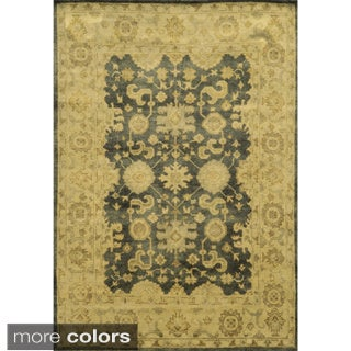 Rizzy Home Aquarius Hand-knotted Hand-spun Accent Rug - 8' x 10'