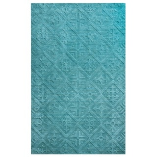 Technique 100-percent Wool Accent Rug (5' x 8') - 5' x 8'