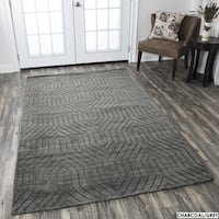 Rizzy Home Technique Wool Rug - 8' x 10'