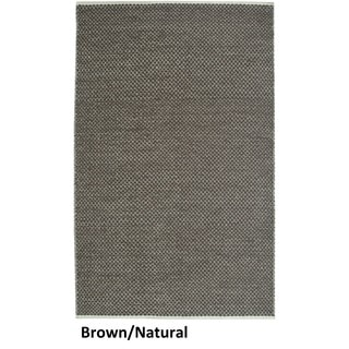 Rizzy Home Twist 100-percent Wool Hand-woven Accent Rug (9' x 12')
