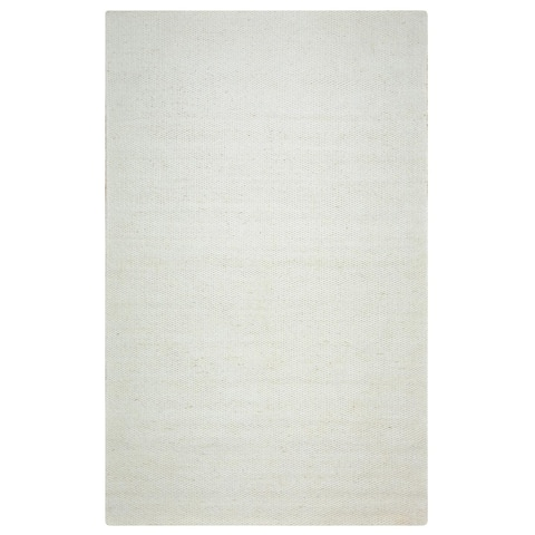 Rizzy Home Twist 100-percent Wool Hand-woven Accent Rug (5' x 8')