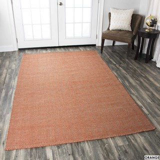 Rizzy Home Twist 100-percent Wool Hand-woven Accent Rug (2 x3)