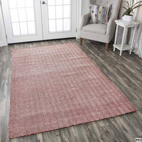 Rizzy Home Twist Hand-woven 100-percent Wool Accent Rug (8' x 10')